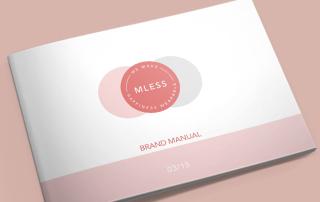 MLess Brand Manual Bloom Marketing