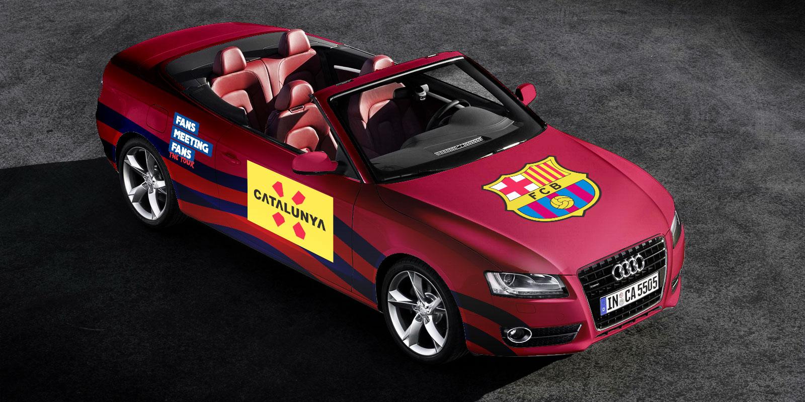 FCB Vinilo Audi