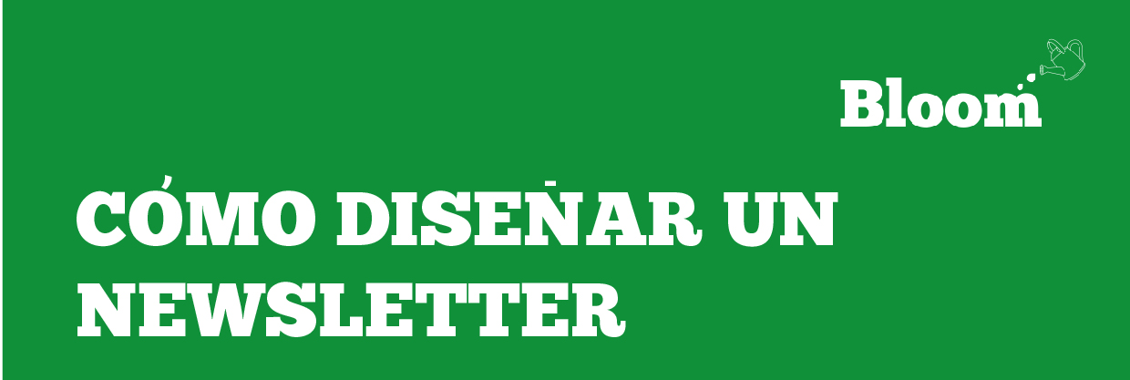 C mo dise ar un newsletter for Como disenar un stand