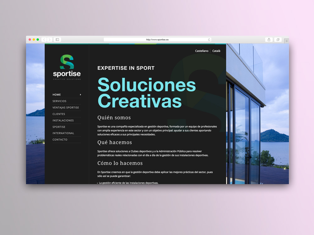 Sportise Web